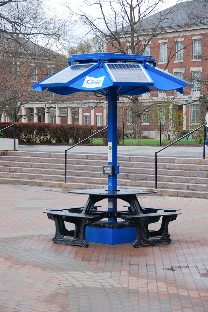 U Of Rochester Solar Table Years To Breakeven Coyote Blog - Solar picnic table