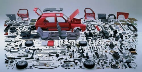 exploded-view-volkswagen-golf-mk2