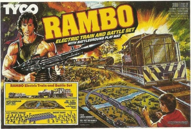 TYCO Rambo set 650x438 650x438 Maybe This is Why Model Railroading is Dying