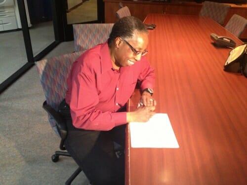 Equal Marriage Arizona First Signature