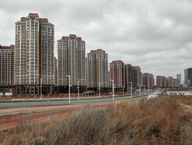 China empty city