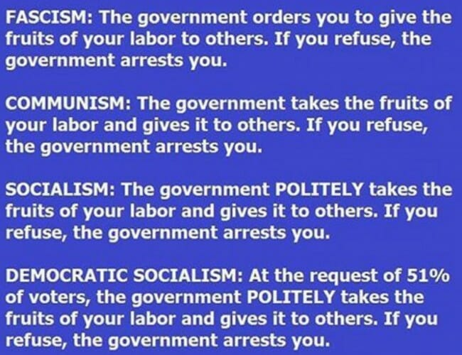 bernie sanders democratic socialism